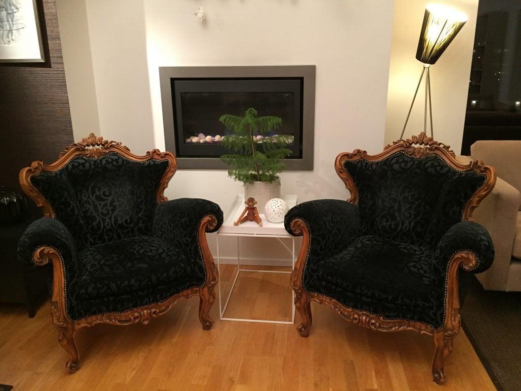 Omtrekking av møbler Interiørfaghuset T. Lund